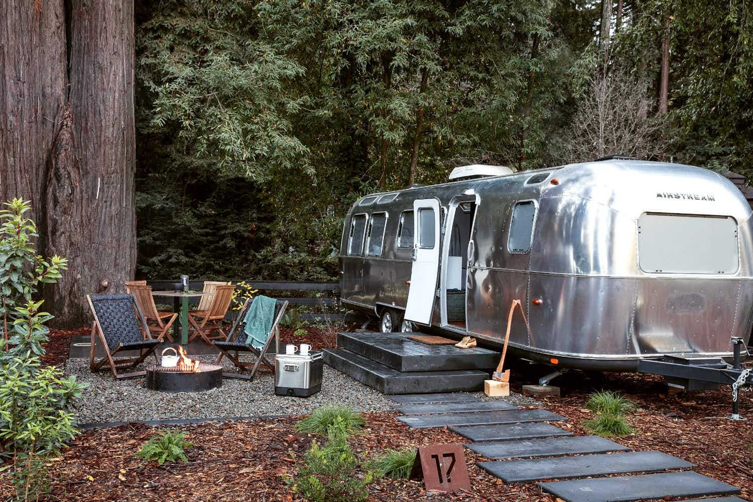 Yosemite is getting a new camp site, filled with iconic Airstream silver bullets