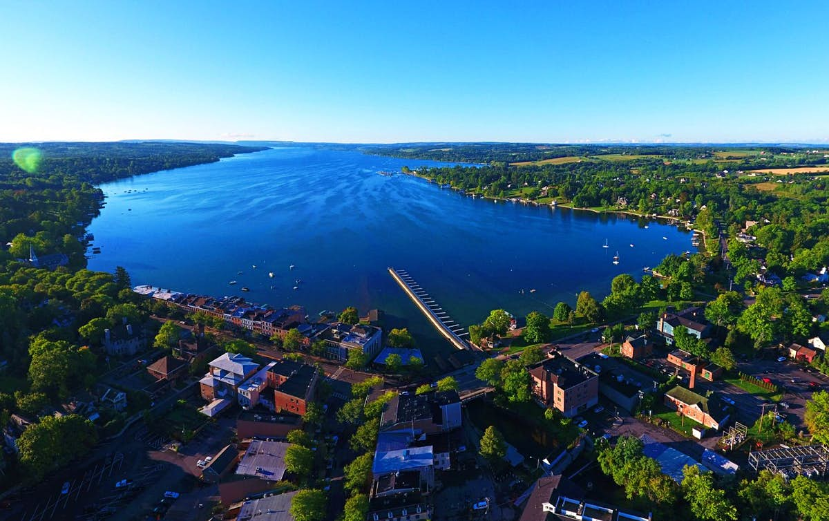 Cheers for Finger Lakes in New York - voted the best wine region in the US