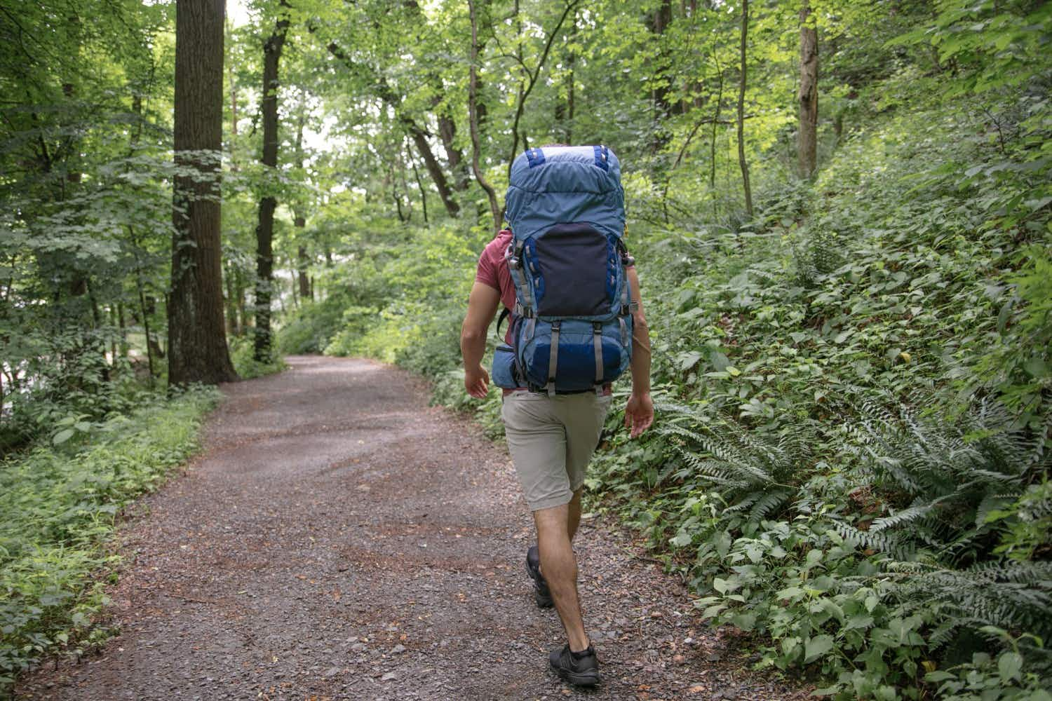 This 'floating' backpack will dramatically reduce impact on users while walking or running