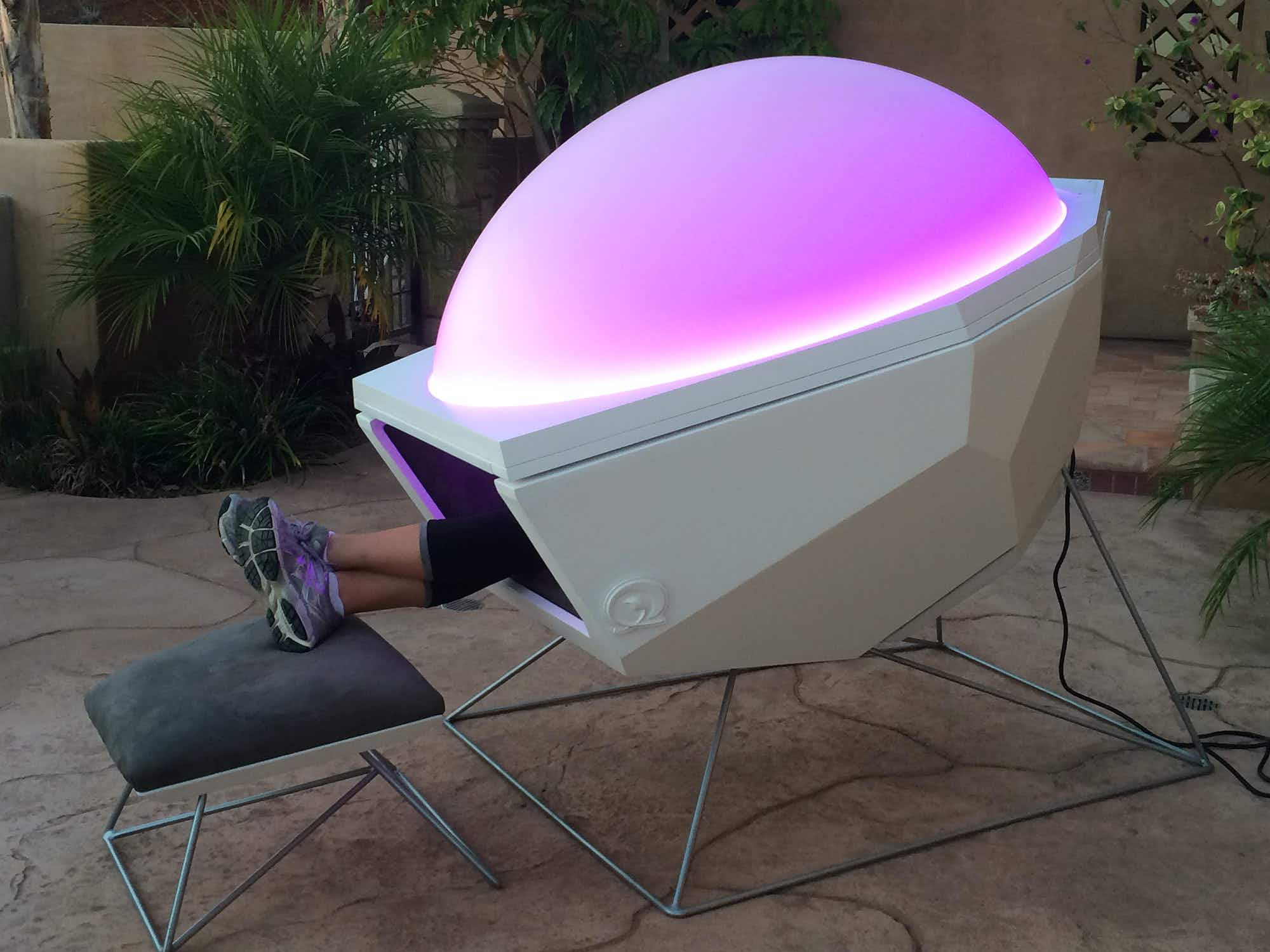 Are Somadomes the perfect recuperation pod for stressed, weary travellers?