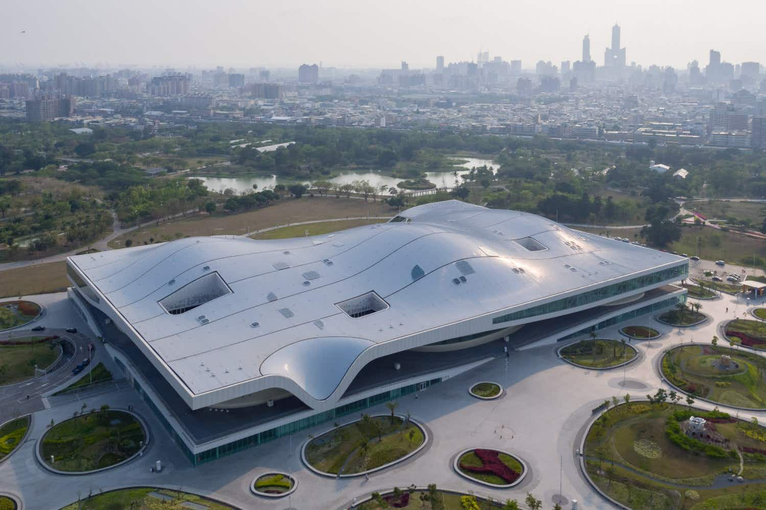The world's largest performing arts centre under one roof is set to open in Taiwan