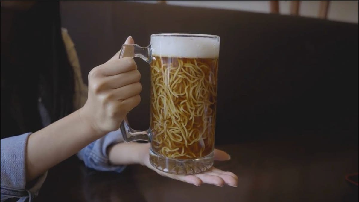 Try out a nice cold beer ramen at this restaurant in Canada