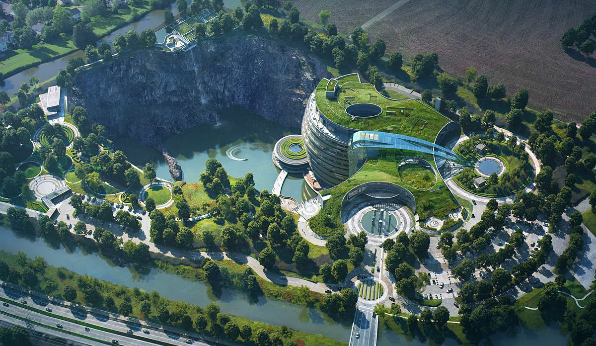 Inside the world's first 'underground' hotel built in an abandoned quarry - Lonely Planet