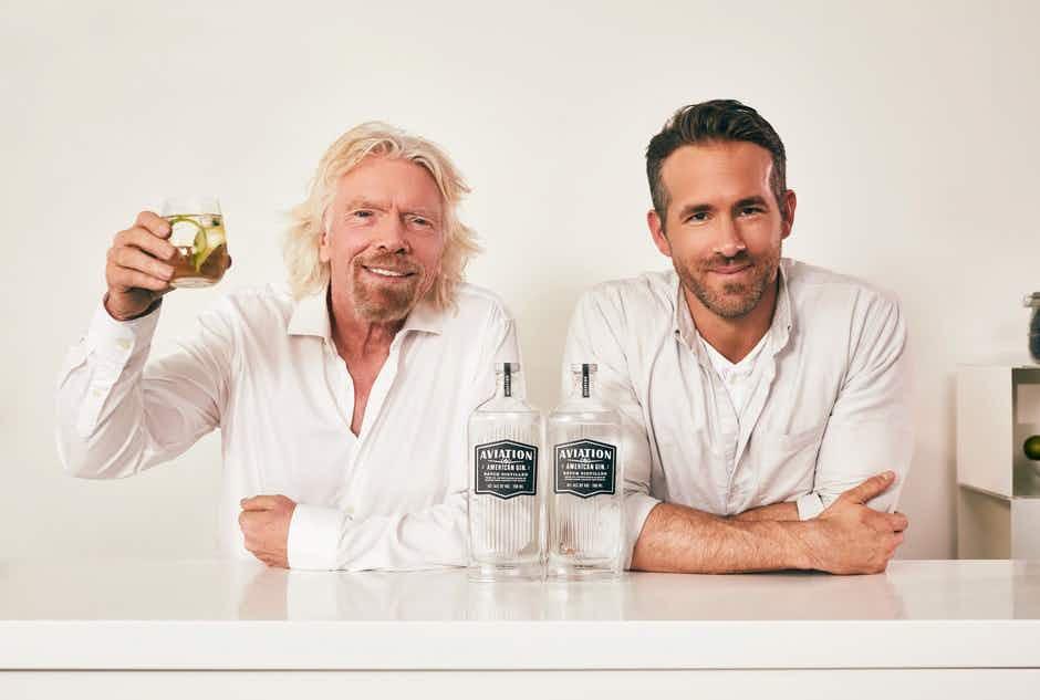 Watch Ryan Reynolds team up with Virgin Atlantic and Richard Branson