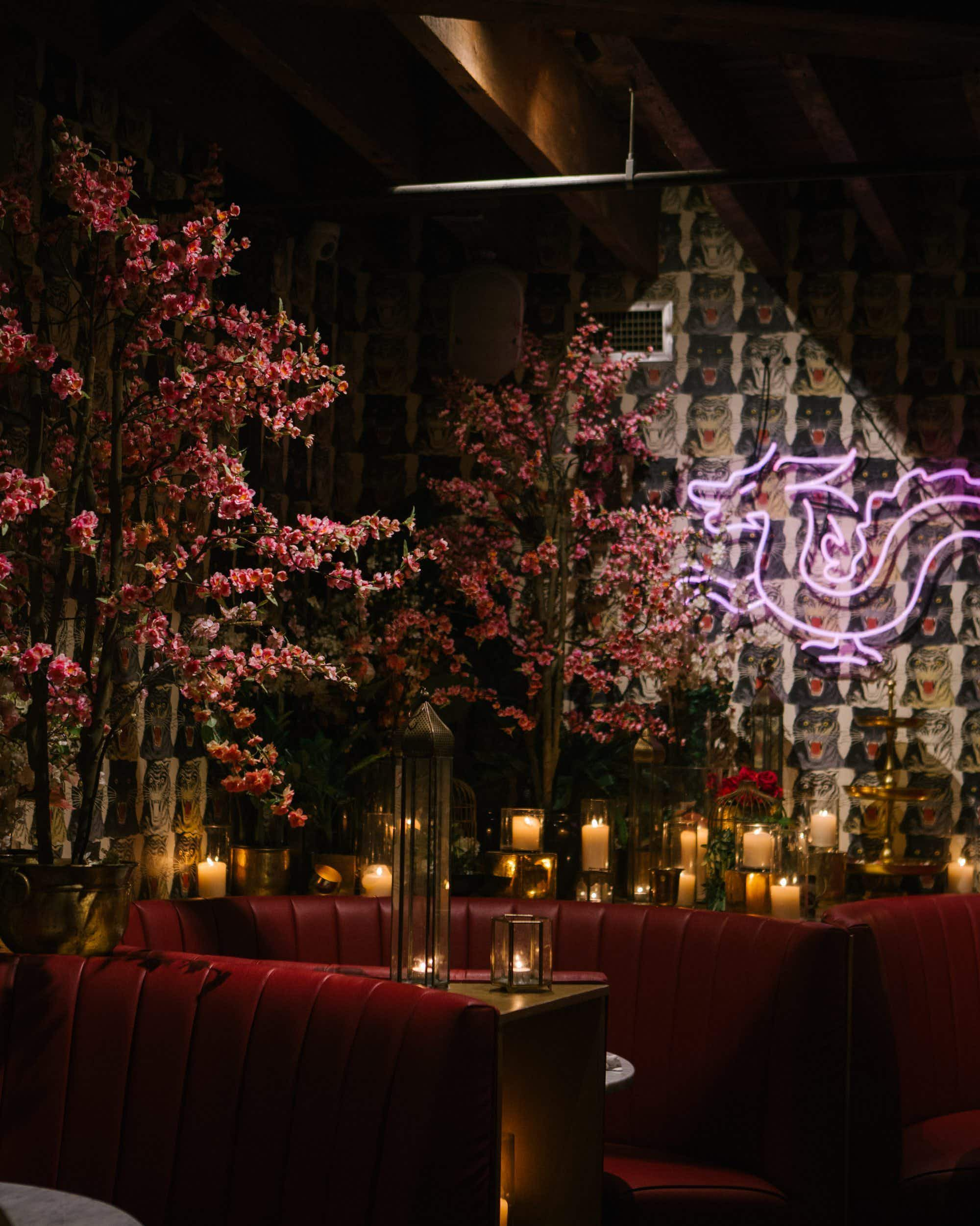 Celebs flock to hip NYC bar for its Gucci wallpaper and superfood cocktails