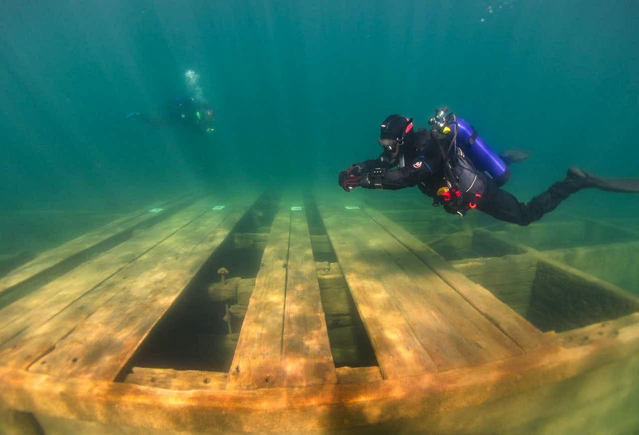 Explore Lake Tahoe's new underwater heritage trail