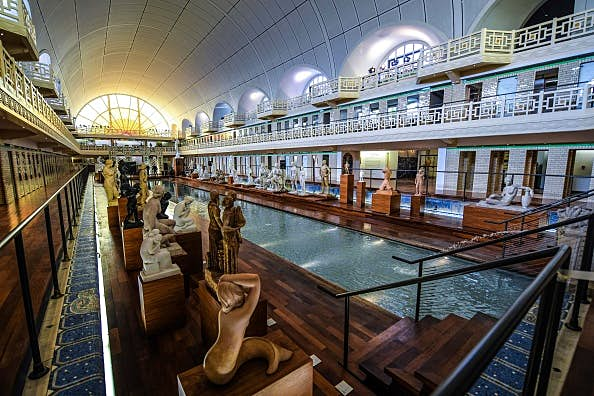 France's famous 'swimming pool museum' reopens after makeover