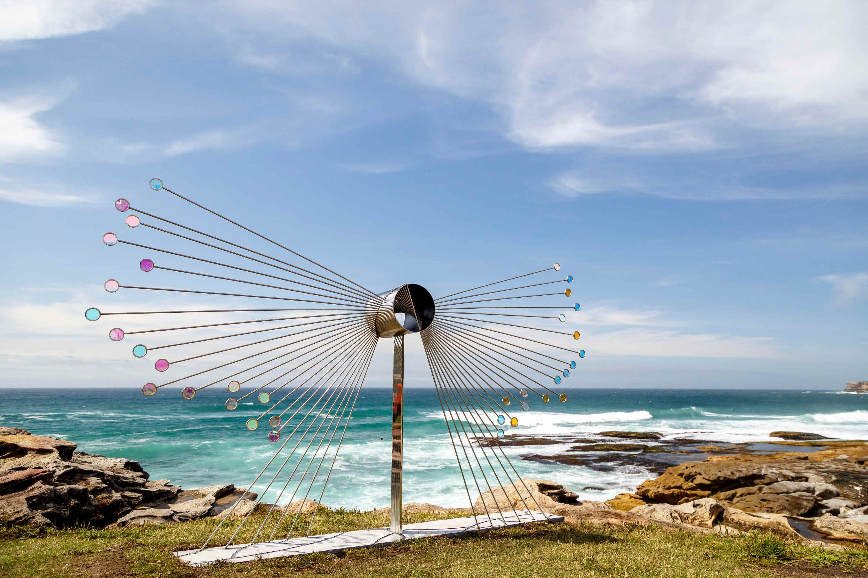Flight by Rhiannon West is one of the works at Bondi.