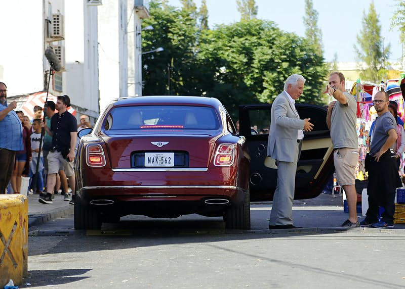Travel News - Richard Gere On The Set Filming of 'MotherFatherSon', the BBC New Series