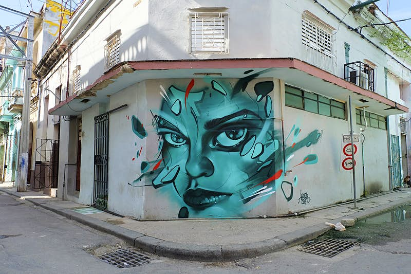 Old Havana neighbourhood embraces Cuba's up-and-coming artists