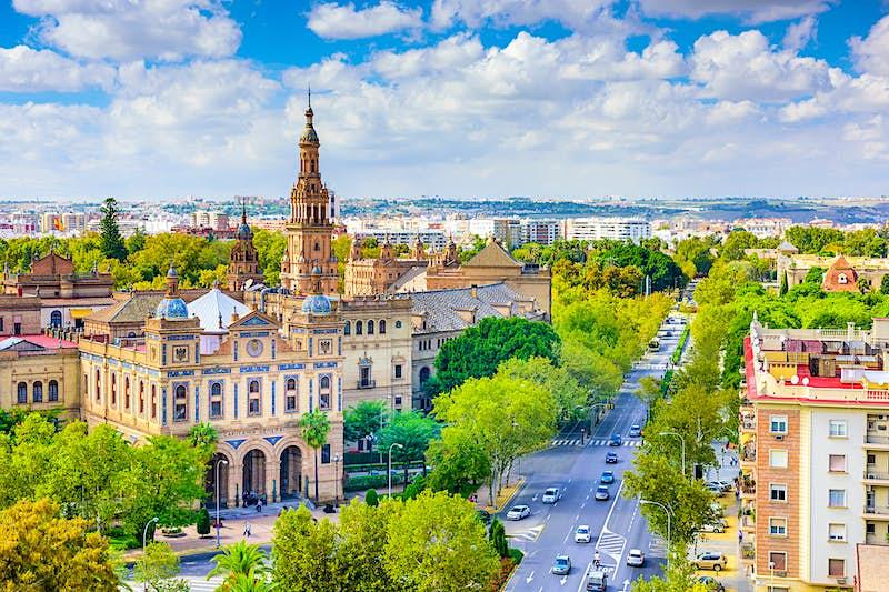 Travel News - Seville skyline