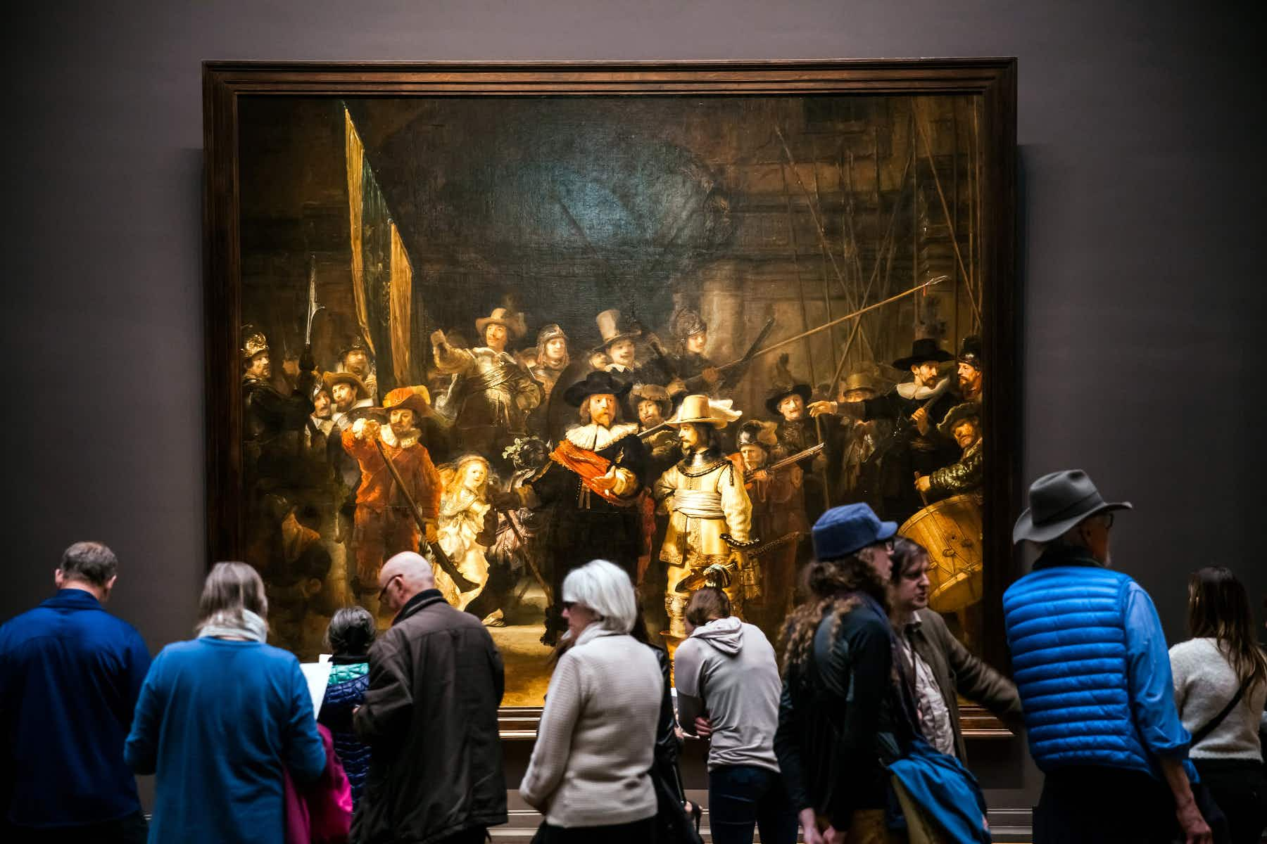 The Night Watch by Rembrandt set to be restored in full public view