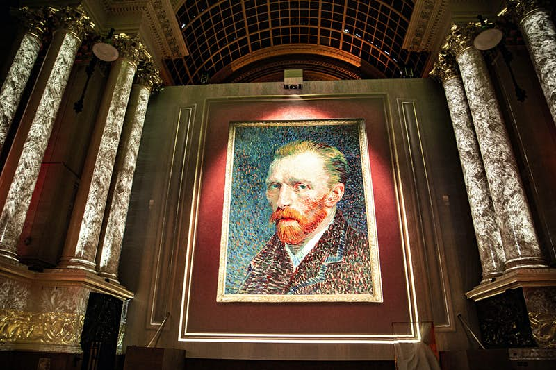 Step into a Van Gogh painting at new Brussels exhibition