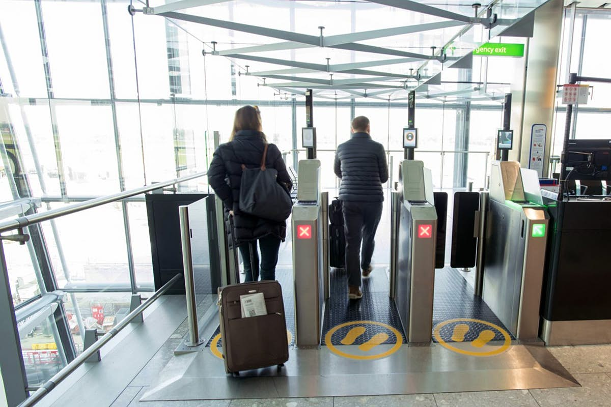 Get through Heathrow without ever having to speak to another human being