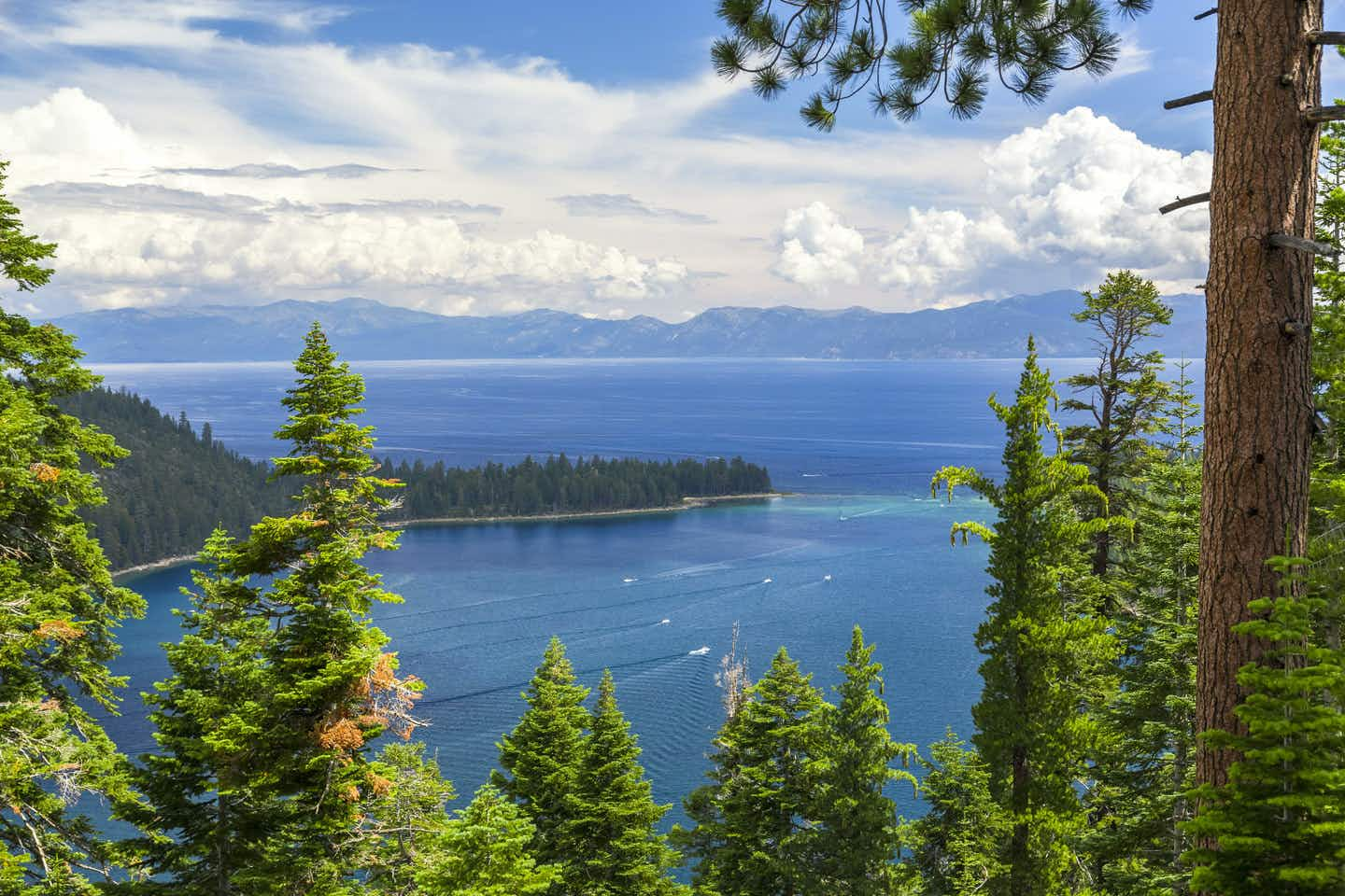 Start at Lake Tahoe for a drive along California's Hwy 395 that will take your breath away