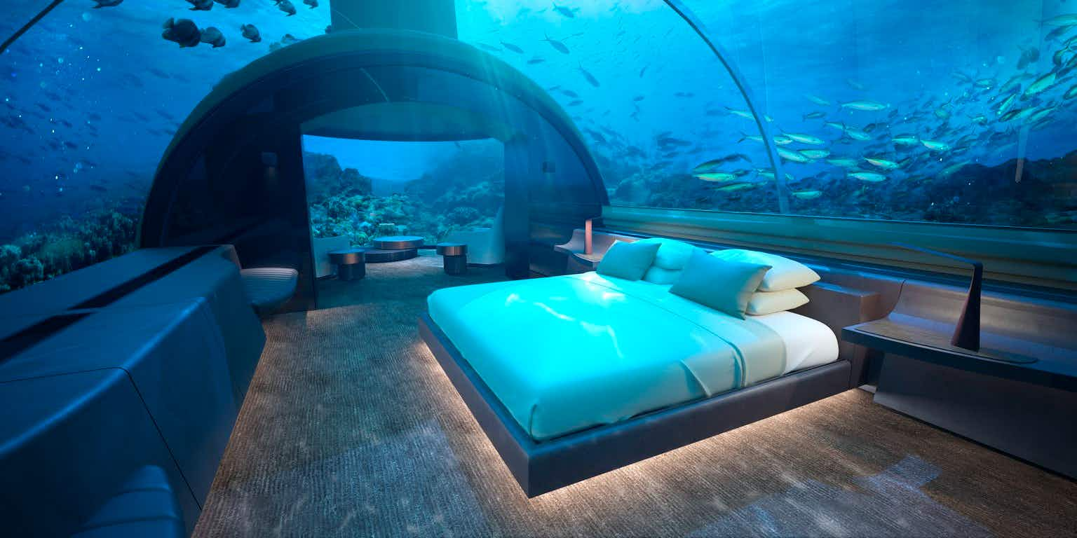Now you can 'sleep with the fishes' at this undersea villa