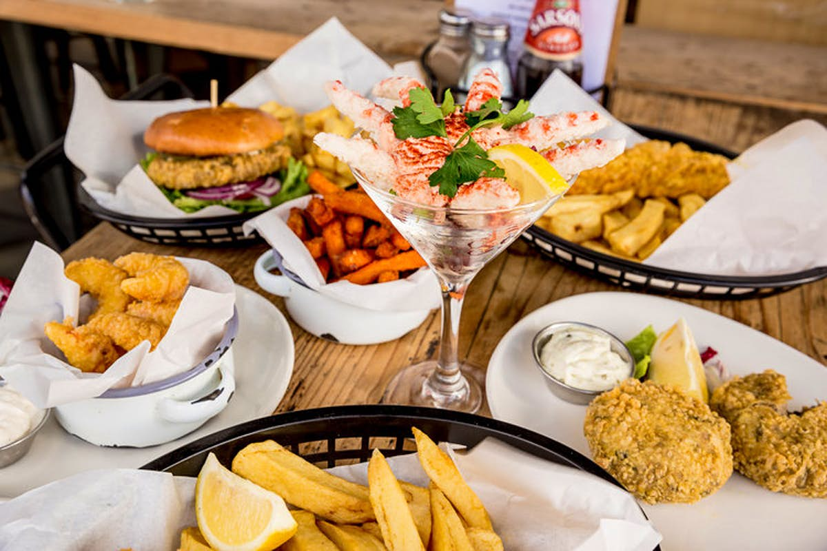 Vegans are flocking to a fish-free fish and chips shop in London's hipster hub