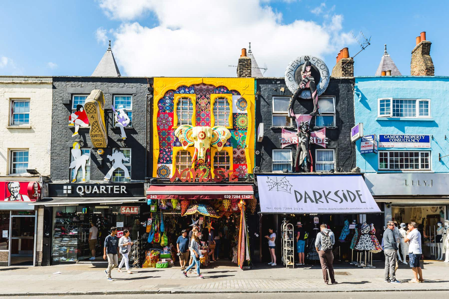 London's Camden Town is set to get a music Walk of Fame next year