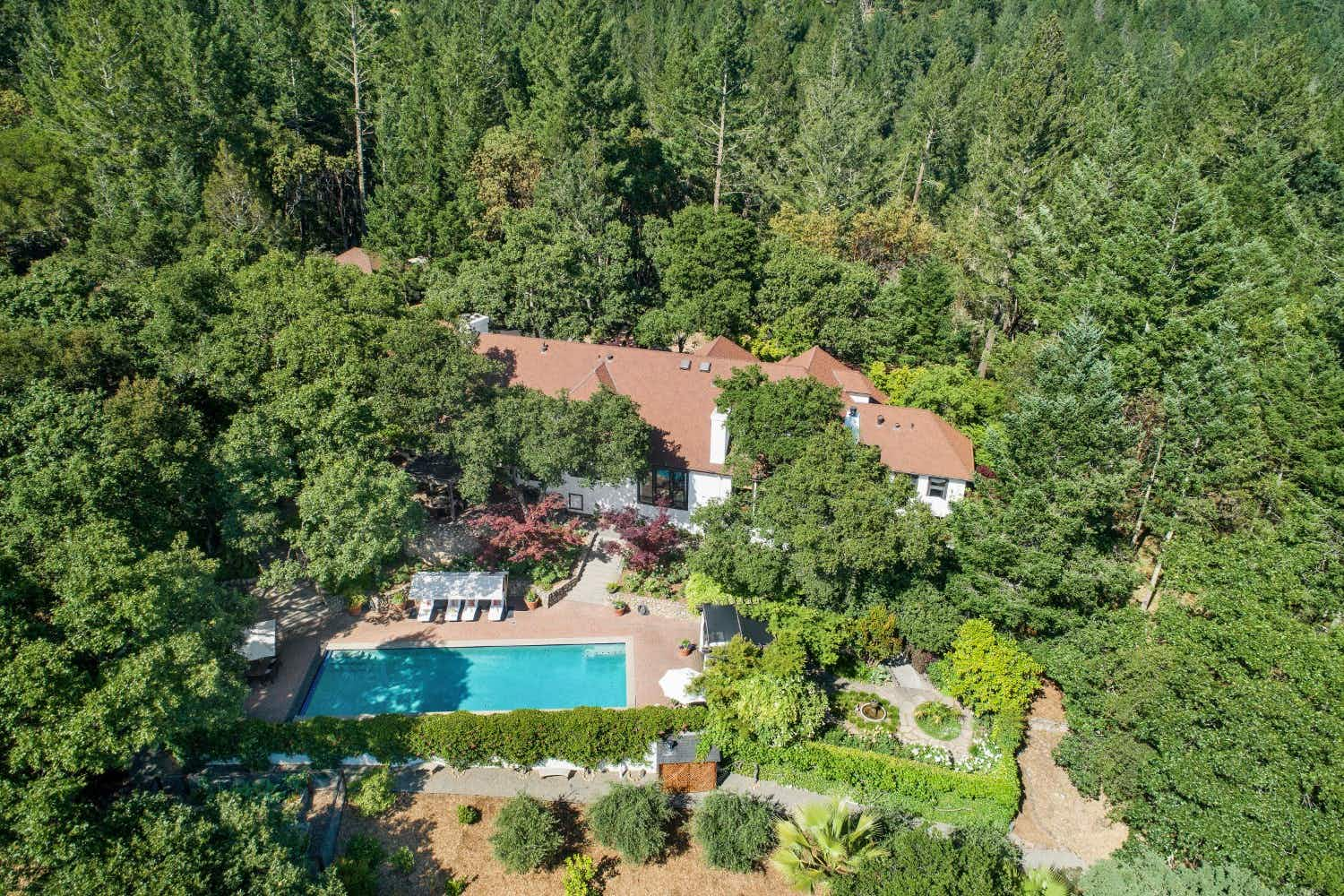 You can buy Robert Redford's Napa Valley home complete with art studio for $7.5m