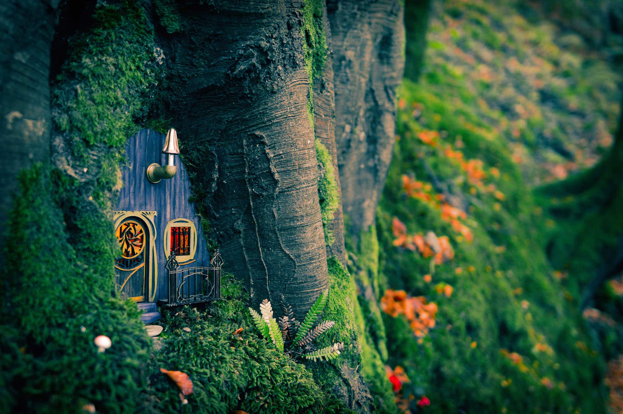 Mysterious miniature fairy houses have popped up across the Isle of Man