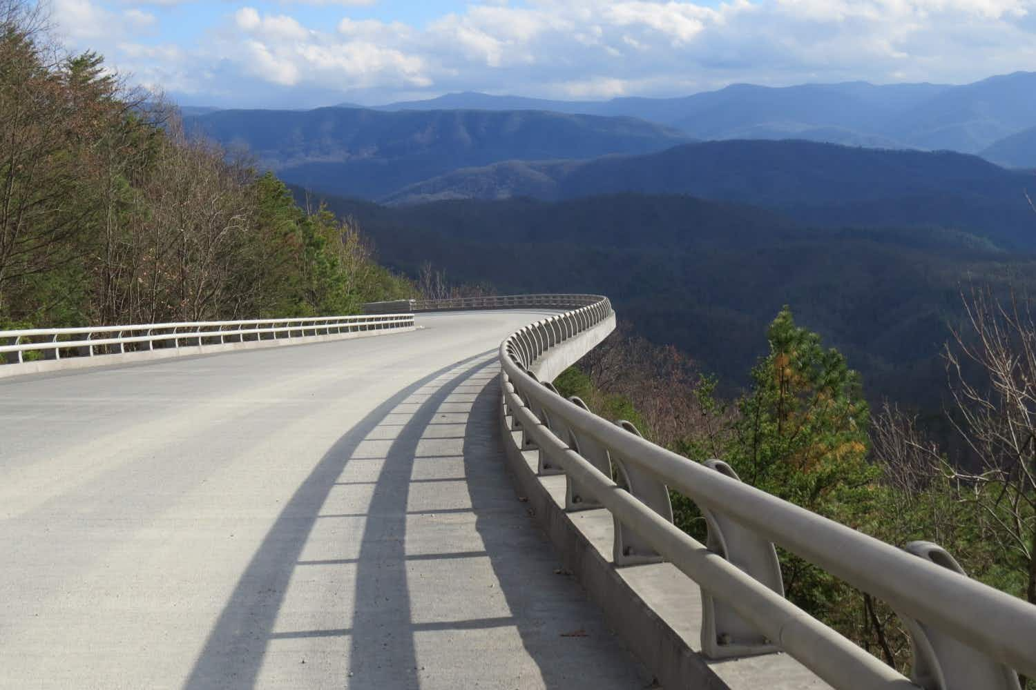 Explore the Great Smoky Mountains on this newly opened route