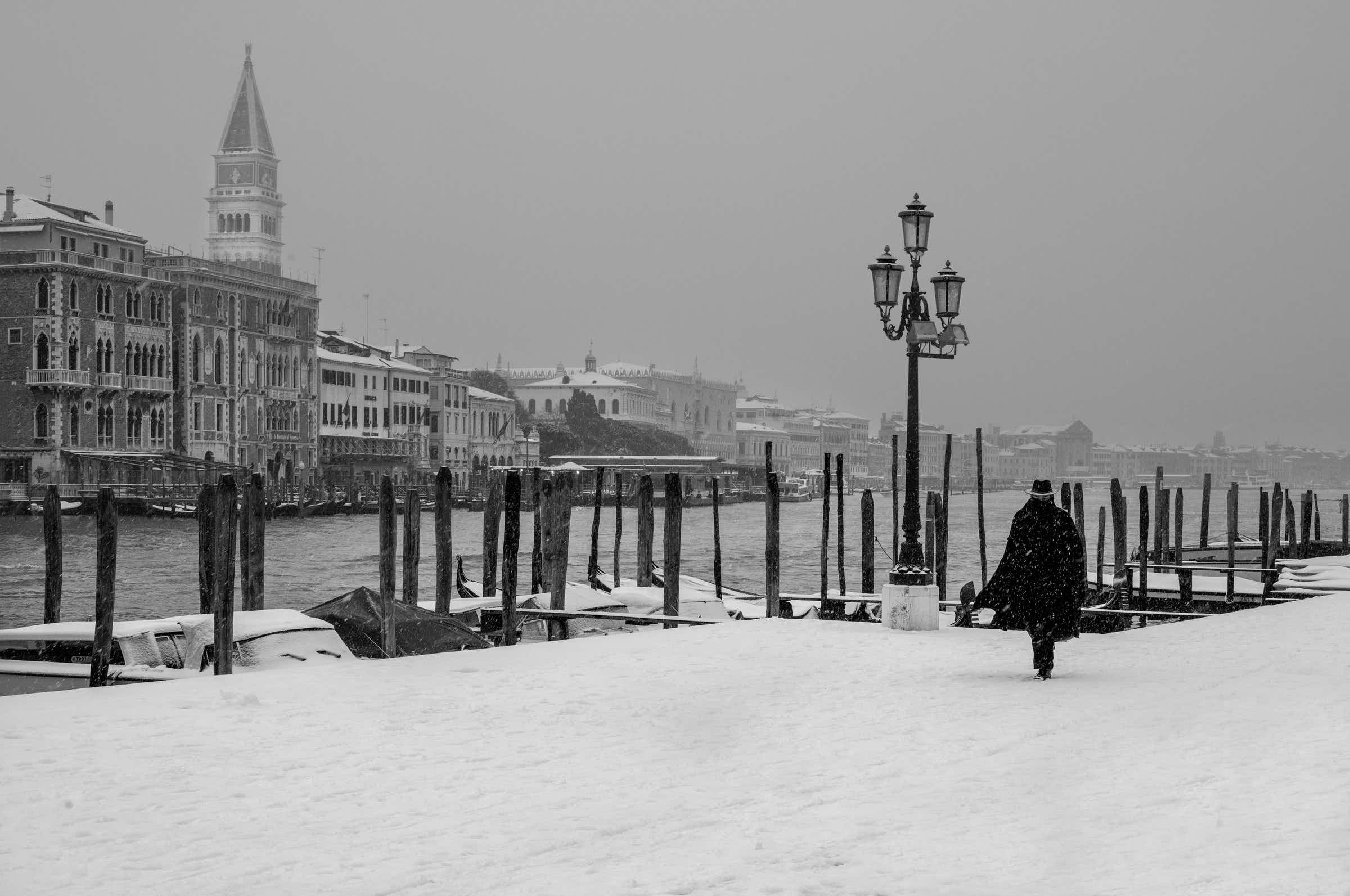 See the timeless beauty of Venice in these black and white shots