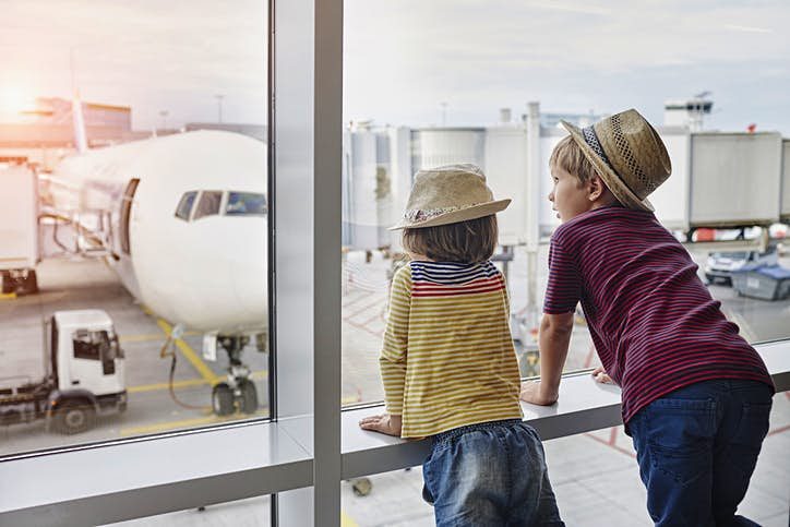 Avoid in-flight tantrums this holiday season - top tips for travelling with kids