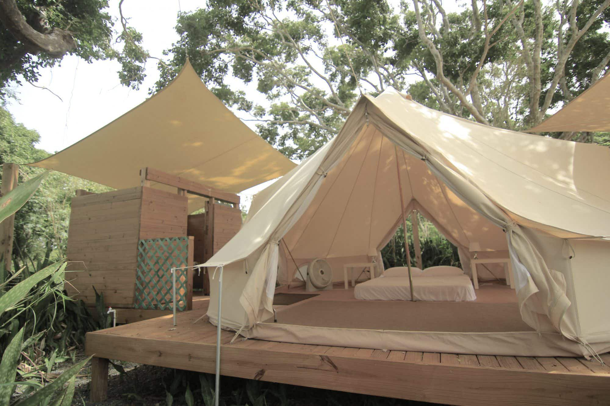 Puerto Rico's first ever glamping site lies beside beaches and nature reserves