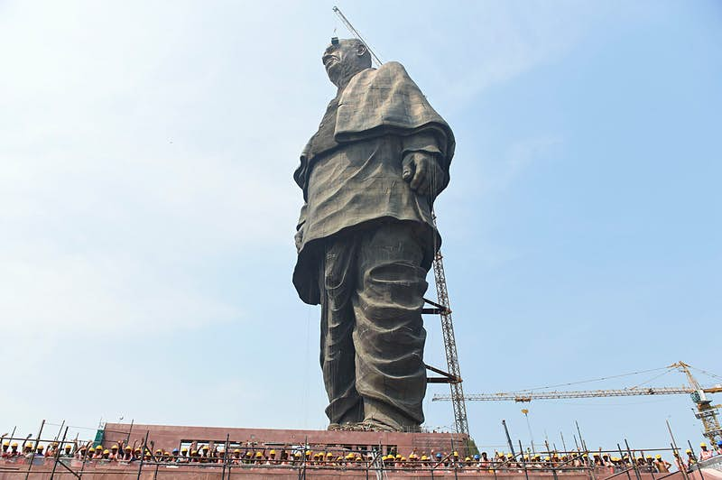 India's 'Man of Iron' commemorated by world's largest statue