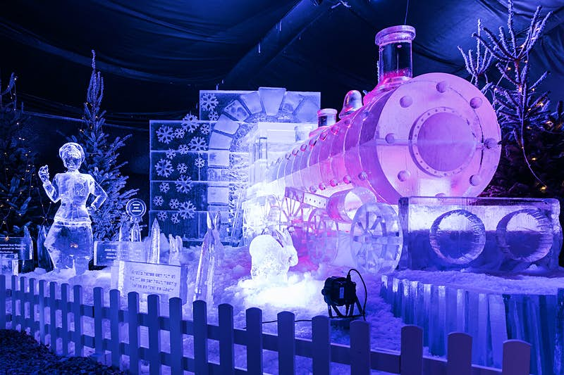 Ice, ice baby: Manchester hosts Britain's first Ice Village