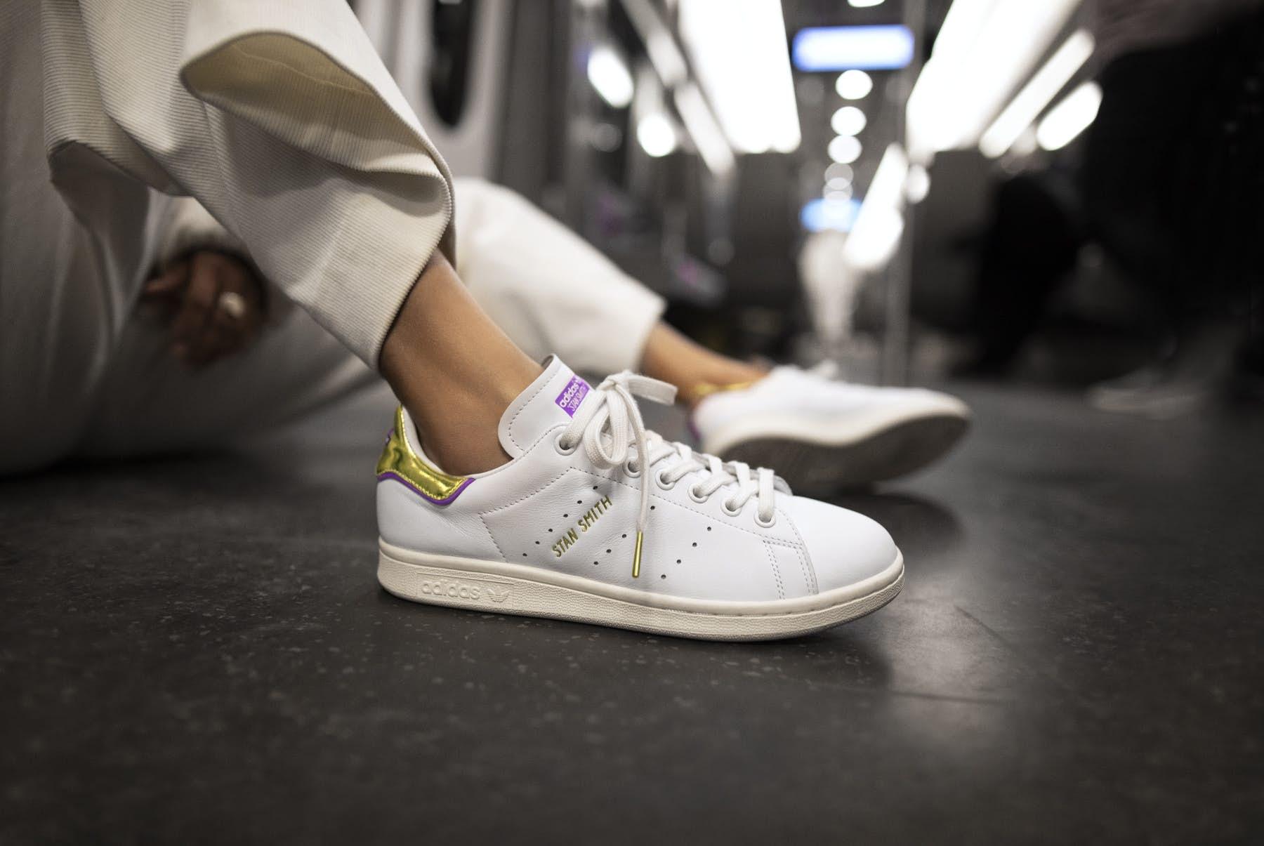 Adidas' latest trainers celebrate London's Tube lines