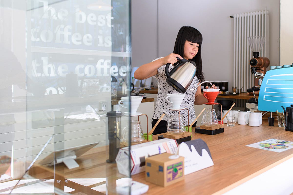 The world's best coffee is brewed in a little side street in Zurich