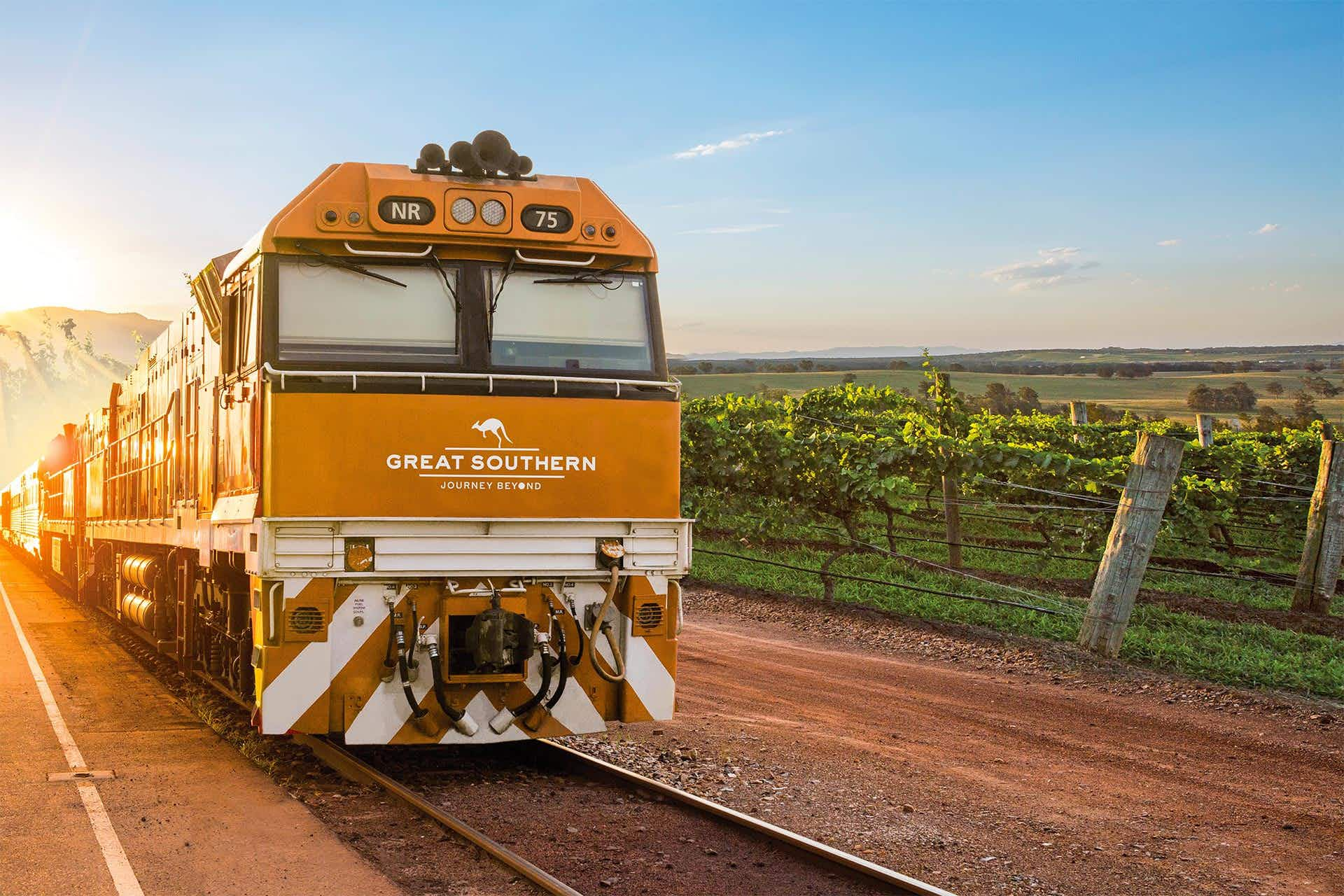 A new Australian rail journey will take you from Adelaide to Brisbane