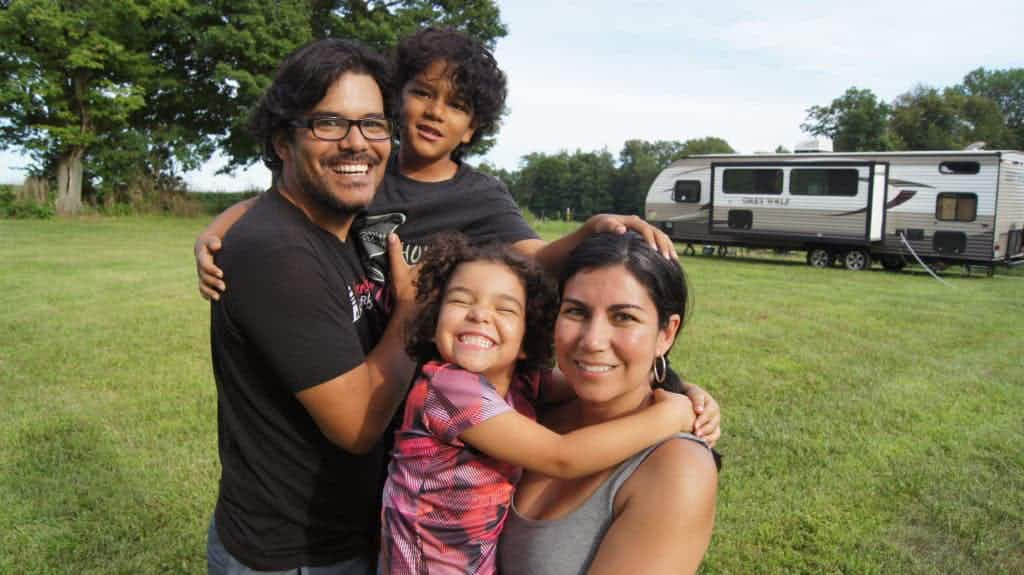 Meet the family-of-four who swapped the 9-5 grind to become modern nomads