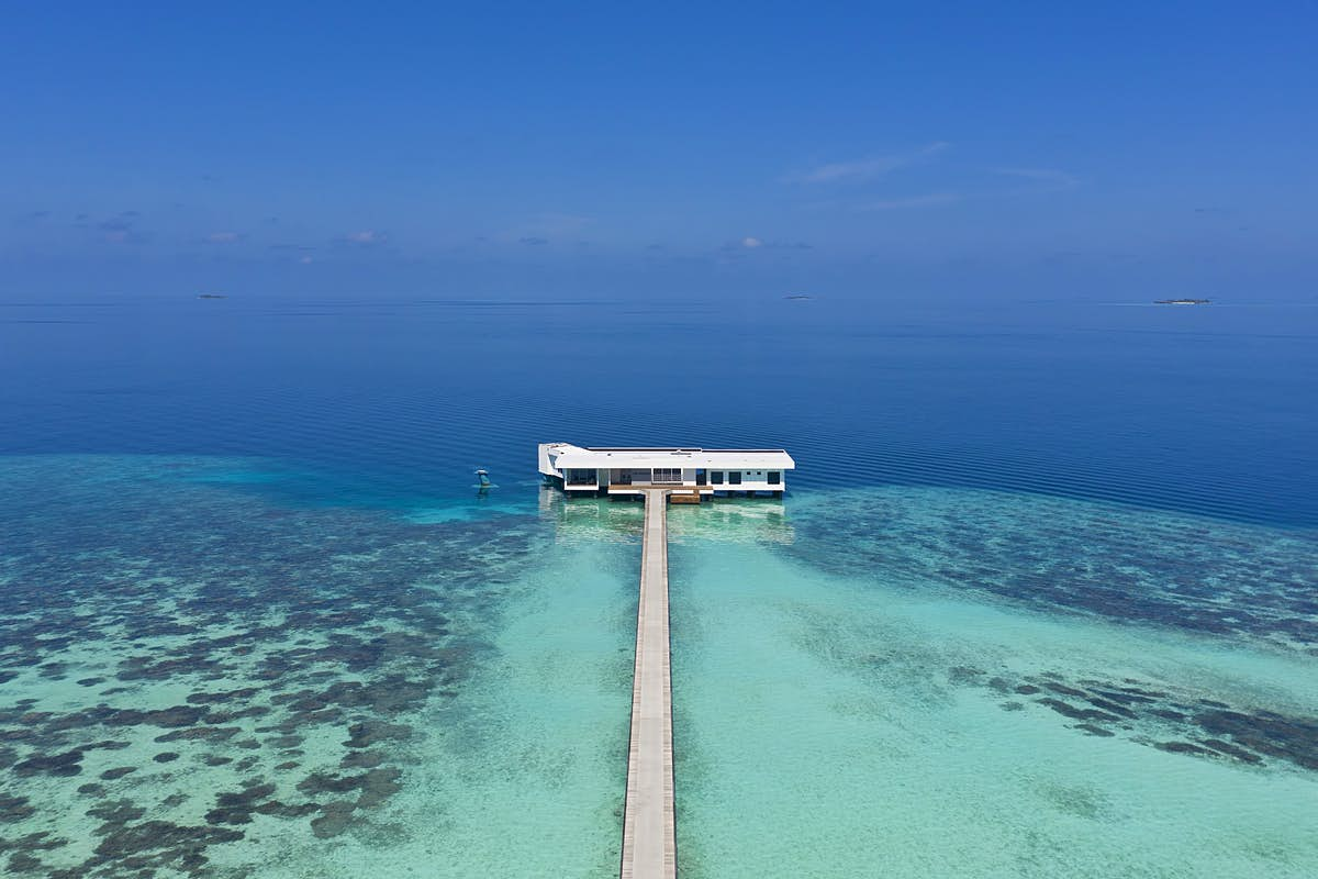Inside that incredible underwater residence in the Maldives