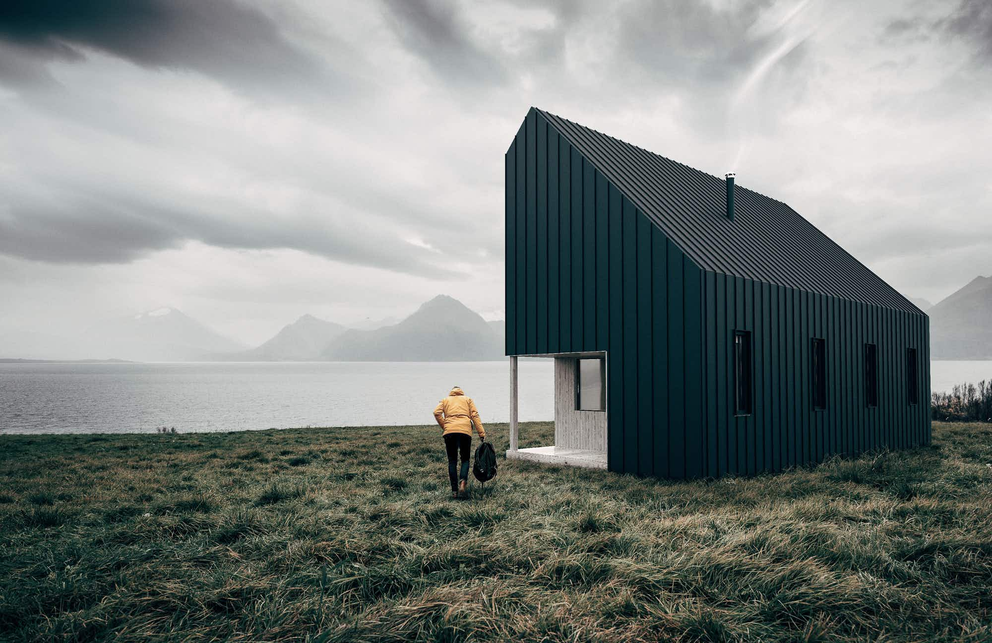 These beautiful flat-pack cabins can pop up anywhere