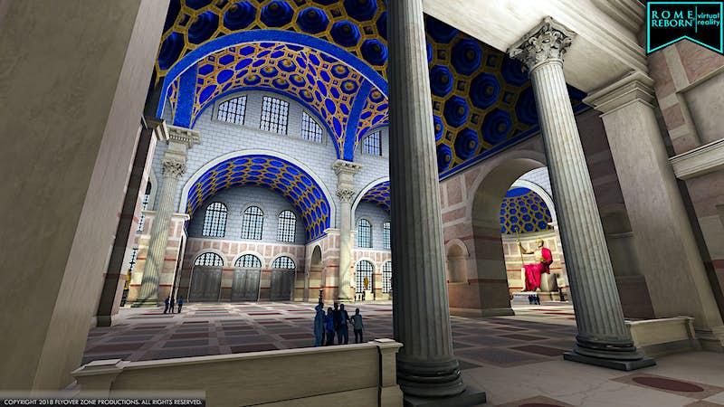 Travel News - Basilica-Maxentius_interior