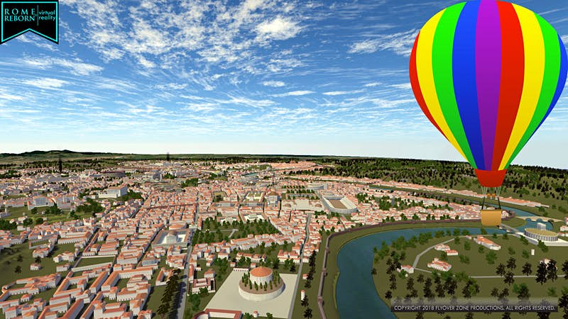 Travel News - Flight over Ancient Rome with balloon