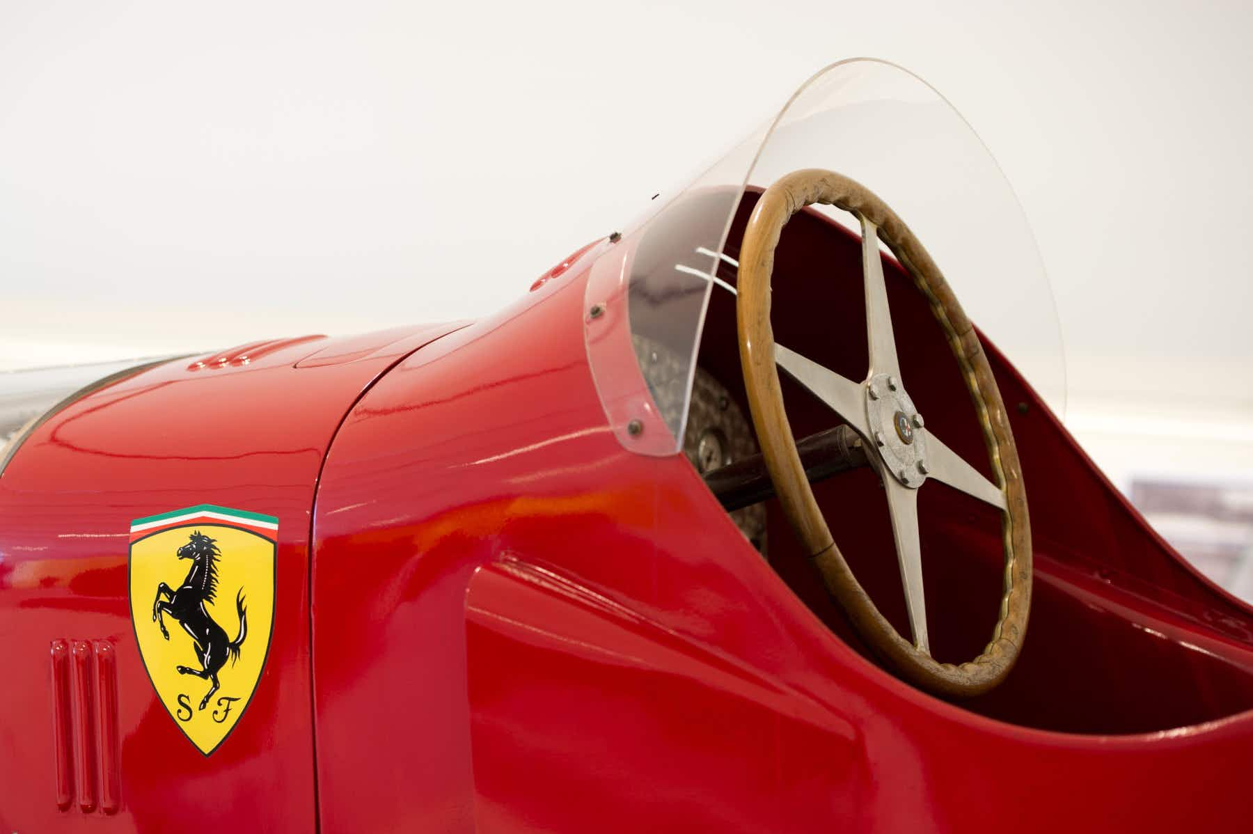 The Ferrari museum in Italy has just opened two new exhibits