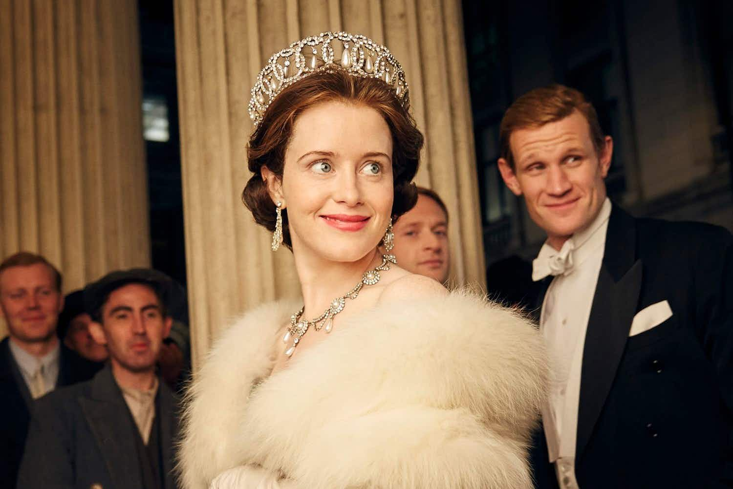 You could have tea with the Queen from Netflix's 'The Crown'