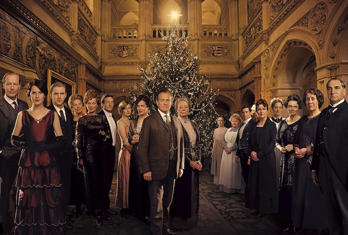 Attend a Christmas Ball at the real Downton Abbey - Lonely ...