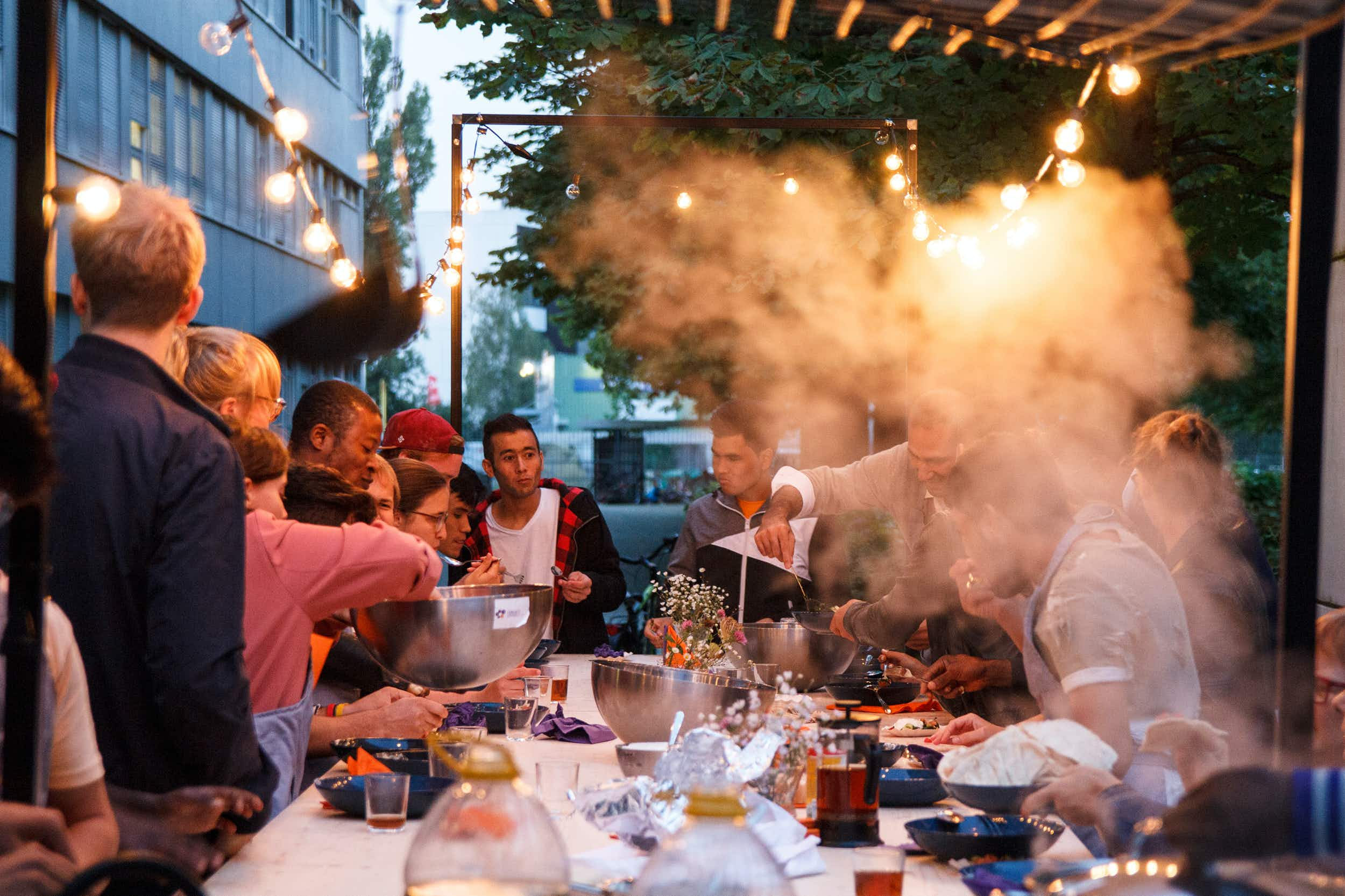 Refugees in Berlin are teaching Germans how to cook their favourite dishes