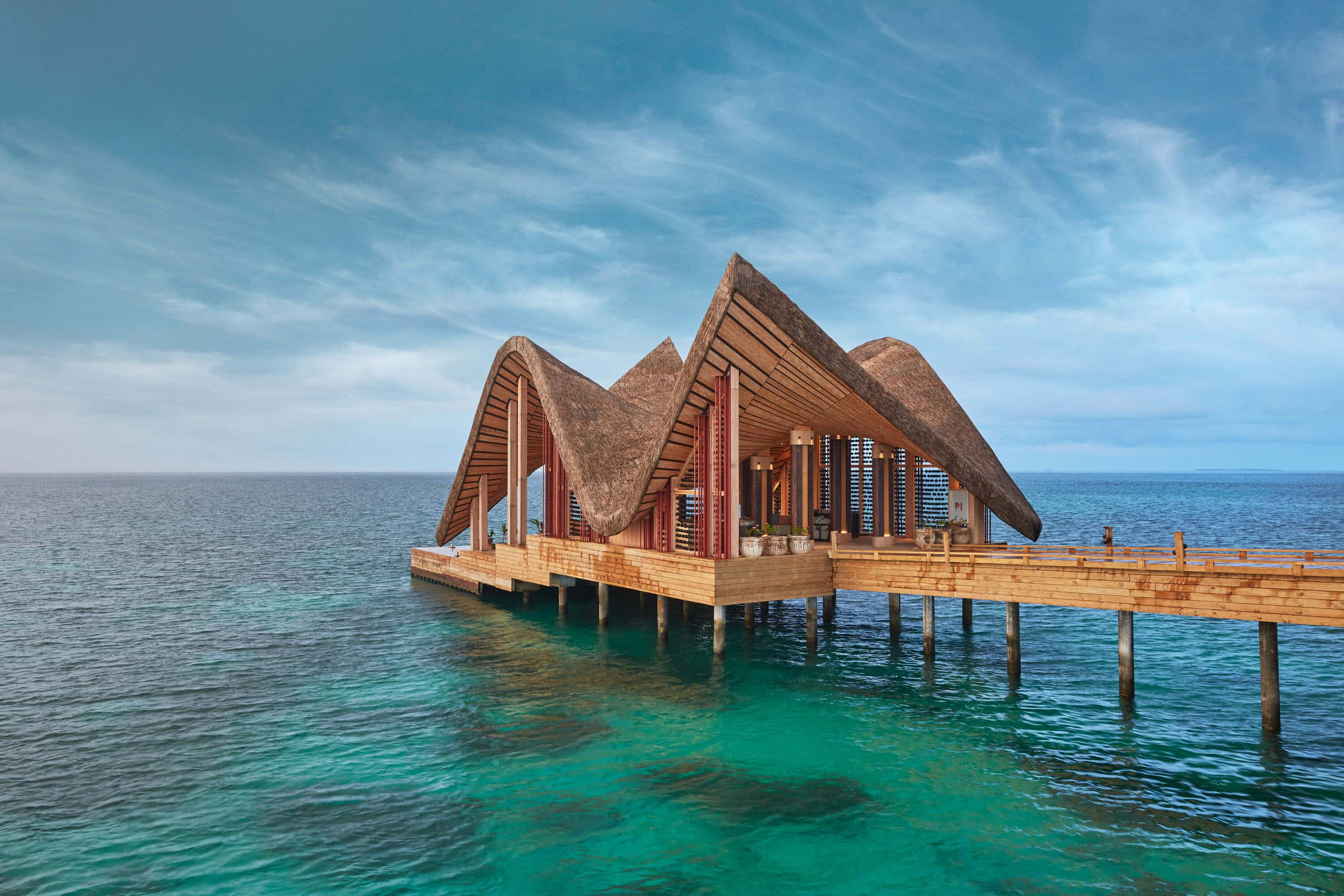 The first art-immersive luxury retreat has opened in the Maldives