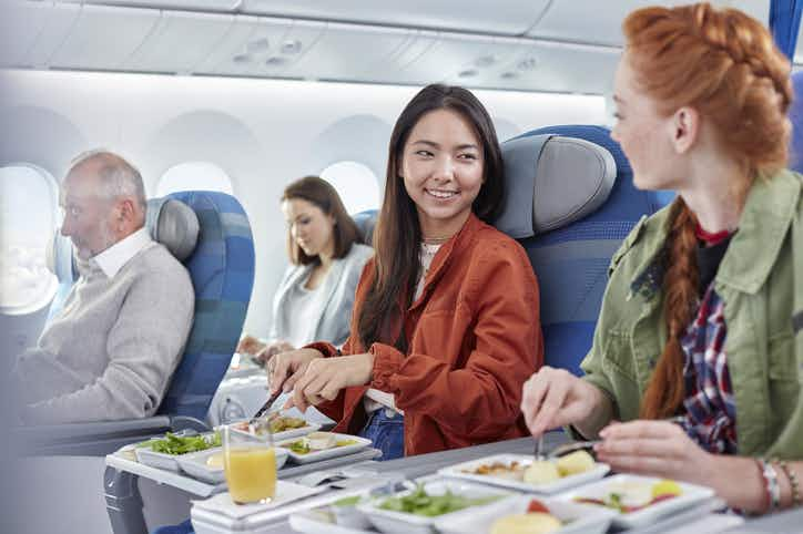 Bring the taste of business class to the kitchen with this inflight meal cookbook
