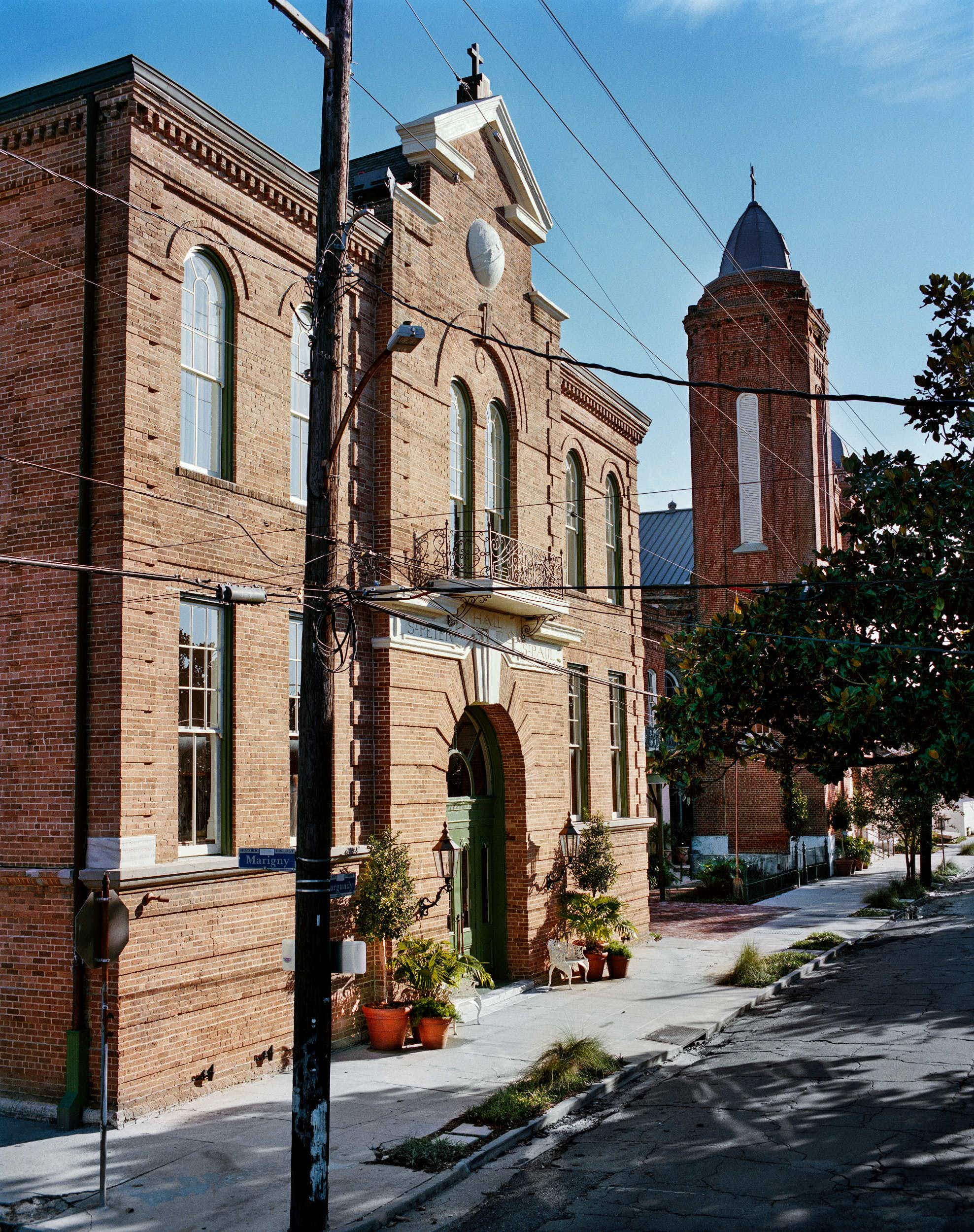 A former church  in New Orleans has been turned into a beautiful hotel
