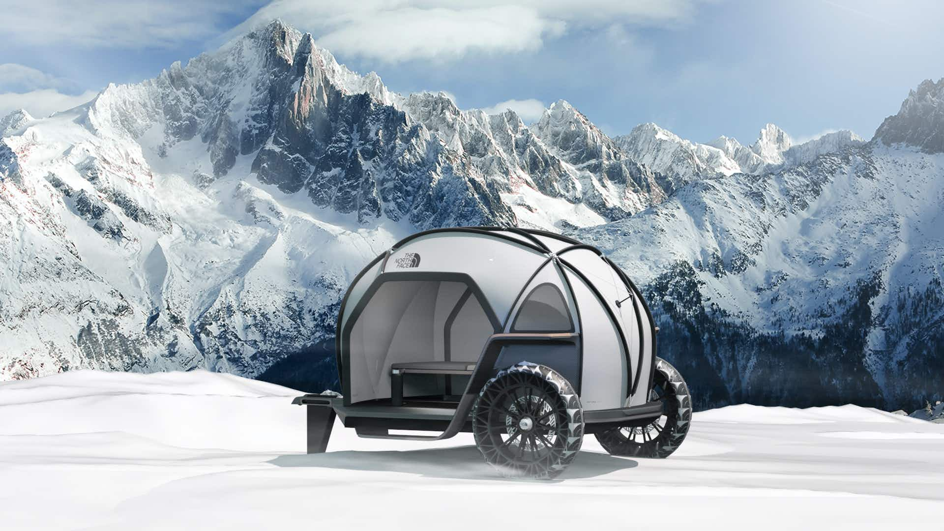 The new camper specially designed to withstand extreme elements
