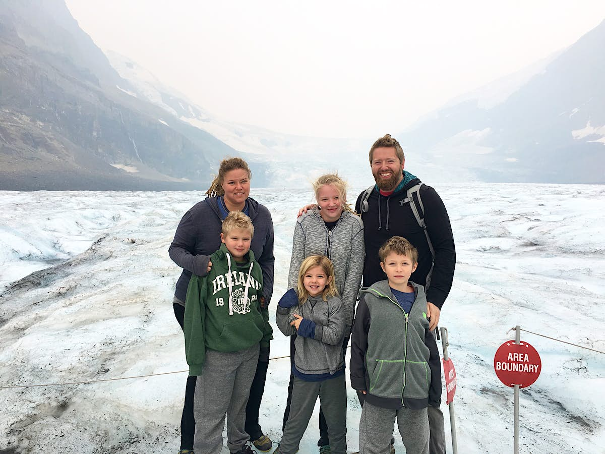 How a family of six live and travel full-time in a vintage Airstream