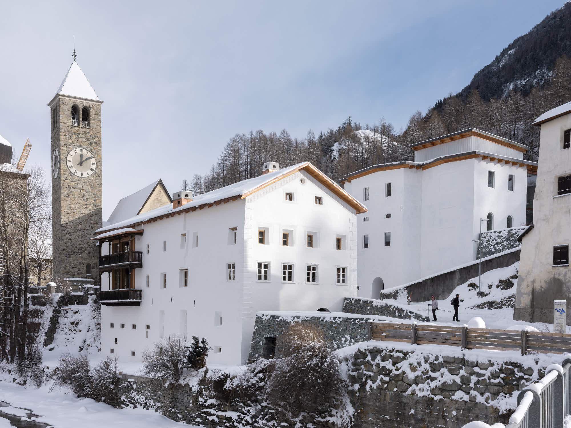 Inside Switzerland's most unique art space beneath the Alps