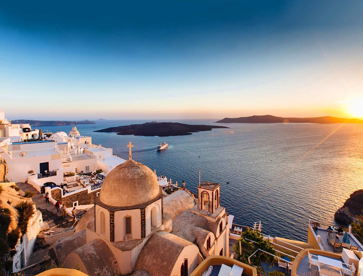 Hop between islands in Greece with this expanded ferry pass