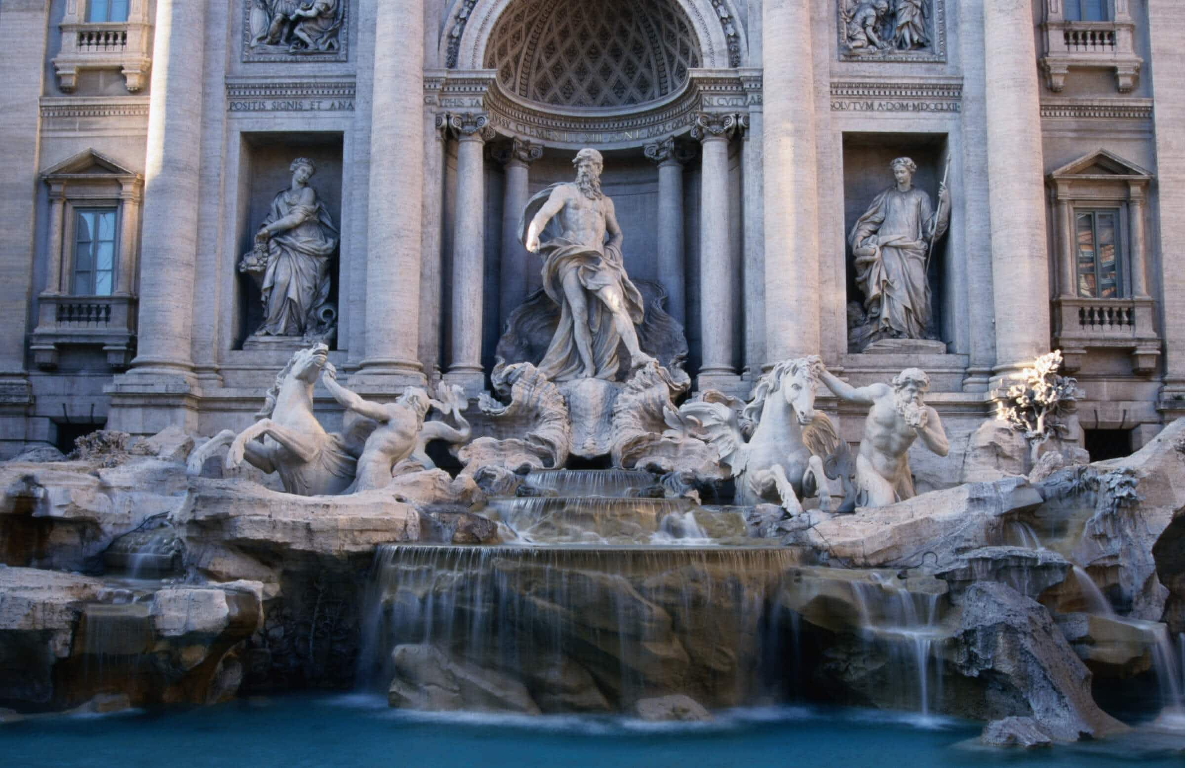 Money from the Trevi fountain is no longer going to charity